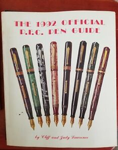 VINTAGE INK PENS PRICE VALUE GUIDE COLLECTOR'S BOOK