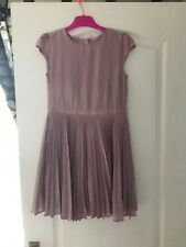 Next Girls Pink Dress Aged 10 Years