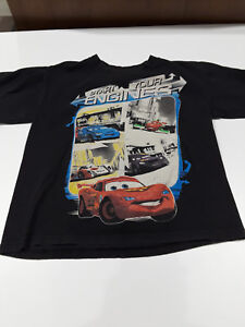 Disney Pixar Cars Start Your Engines T-shirt sz S
