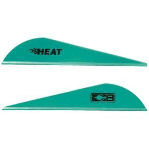 Bohning Heat Vanes Teal 36 Pack