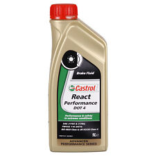 Castrol REACT Performance DOT 4  1 Litros Lata