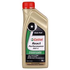 Castrol REACT Performance DOT 4  1 Litres Boîte