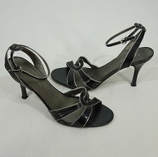 NINE & COMPANY Black Heel Sandals Women's size 8.5 US