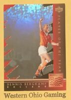 1994 World Cup USA Dennis Bergkamp #WC5 Player Of The Year Soccer Card