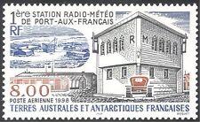 FSAT/TAAF 1998 Radio Meteo/Station Buildings/Weather/Communications 1v (n30110)