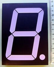 "Large 10cm (4"" inch) GREEN 7 segment LED display common Anode - EU seller"