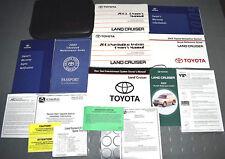 2005 Toyota LandCruiser Land Cruiser Owners Manual - SET