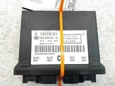 12-13 Chevrolet Volt OEM Theft Locking Module 13578783