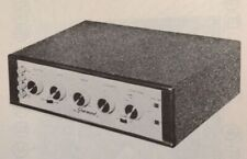 1960 SHERWOOD S-4000 AMPLIFIER SERVICE MANUAL PHOTOFACT schematic 7 TUBE AMP