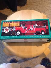 NIB ERTL TEXACO F415 1929 Mack Fire Truck Bank From 1998.