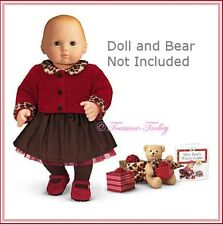 NIB American Girl Bitty Baby Chocolate Cherry Complete Set w/Toy &Book FREE SHIP