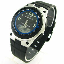 Authentic Casio AW-82-1A Fishing Gear Illuminator Sports Mens Rubber Watch AW82
