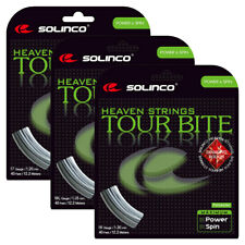 Solinco Tour Bite Diamond Rough Tennis String Silver (    )