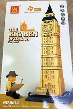 Lego® Compatible Architect Series Big Ben Building Blocks 1642 pcs FREE US SHIP