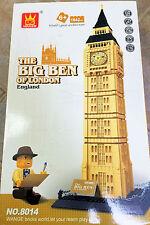 Building Block Architect Series Big Ben Building Blocks 1642 pcs FREE US SHIP