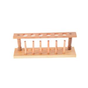 6hoyos nuevo laboratorio de madera de prueba de almacenamiento tubo soporte r*ws