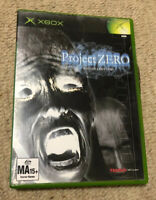 XBOX Project Zero - Xbox Game Rare Complete Still Sealed PAL AUS Release