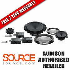 "Audison Prima APK163 6.5"" 3-Way Component Kit - FREE TWO YEAR WARRANTY"