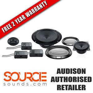 "Audison Prima APK163 6.5"" 3-Way Component Kit - FREE TWO YEAR WARRANTY"