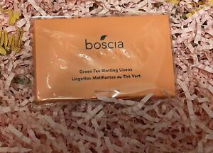 boscia Green Tea Blotting Linens  - Vegan, Cruelty-Free, Natural 100 Sheets
