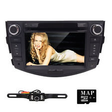 Fit 2006-2011 TOYOTA RAV4 Car DVD Player 2DIN GPS Navigator Stereo Radio RDS Cam