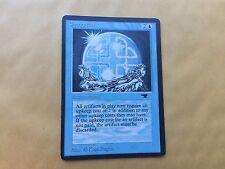 Misprint Energy Flux Antiquities Partial ALBINO MTG Magic Card