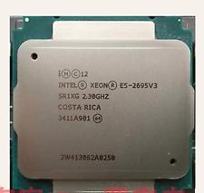 Intel Xeon E5 2695V3 qs 14-Core 2.2GHz/35M LGA2011-3 Processor CPU x99