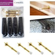 4 * KIT Porta STOPPER + TAPPO A MOLLA colore oro il Pacchetto visibilità prima SAFE STOP KIT