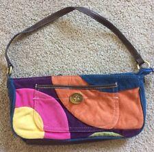 Nine West Colorful Mini Handbag, Shoulder Strap Only, Zipper Closure