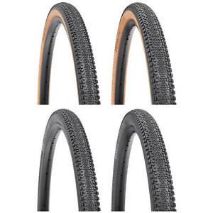 WTB Riddler Tyre TCS 700c Gravel Bike Fast Dual DNA SG2 Folding Black Tan Wall