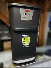 Rubbermaid double decker  2 In 1 Recycling modular bin with liner lock