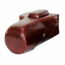 PU Leather Bag for Canon EOS 700D 650D 600D 500D Digital Cameras with lens