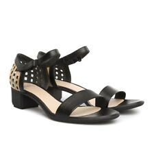Camper Open Toe Peforated Block Heel Twins Sandals 39 9