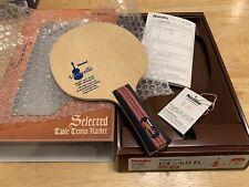 New listing Nittaku Vioncello FL 5-Ply Table Tennis Blade Paddle Defensive Shakehold Japan