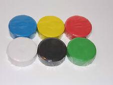 Brian Clegg TEMPERA COLORI VERNICI blocco x 6 colori x 55 mm diametro