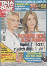 Télé Star N°1602 - 11/06/2007 - Katherine Heigl/Ellen Pompeo - J.Claude vandamme