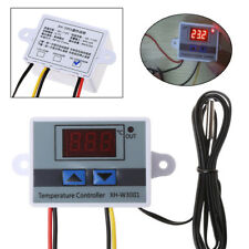 LED Digital Temperature Controller 220V 10A Thermostat Control Switch Probe New