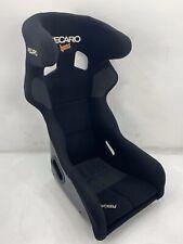 GENUINE RECARO PRO RACER HANS FIA GRP BLACK BUCKET SEAT SPG VARIO SPA SPARCO