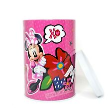 Disney Minnie Mouse Coin Bank - Pink Tin Collectible Coin Bank for Kids
