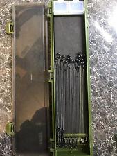 Korda N-trap 5x Ronnie 5x German Rigs 5x KD 5x Slip d size 6 Barbed In Box