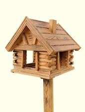 VOGELHAUS aus Holz  Vogelhäuschen Vogelhäuser Vogelfutterhaus auch mit Ständer