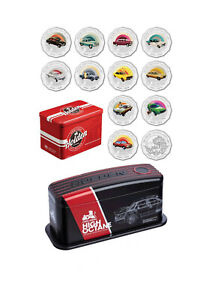 2016 Holden Heritage Collection 12 coin set + 2018 Holden High Octane 7 coin set