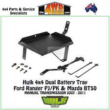Hulk 4x4 Dual Battery Tray suit Ford Ranger PJ/PK Mazda BT50 Manual Transmission