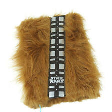 STAR WARS CHEWBACCA FUR COVERED A5 NOTEBOOK BRAND NEW GREAT GIFT