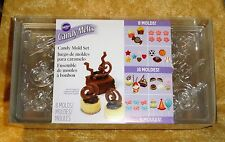 Candy Mold Party Pack,Chocolate Mold,Wilton,Clear Plastic,2115-0030,Lolli,BonBon