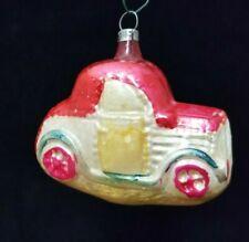 Rare Vintage 1930's Comic Car Glass Ornament