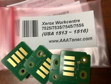 4 Toner Chip (1513 ~ SOLD) for Xerox WorkCentre 7525 7530 7535 7545 7556 Refill