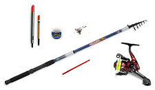 Lineaeffe Telescopic rod 7ft Stillwater fishing kit -rod,reel,floats,shot,hooks
