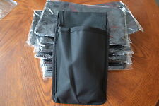 LIMITED OFFER 2 x  BLACK NYLON TOOL POUCH SAVE £1