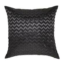 CHEVRON BLACK Zig Zag European Pillowcase - Ultima Logan and Mason